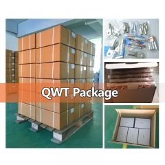 QWT JGY KRF FC series 4,8 awg non-insulated electrical ring o type female spade connector copper cable crimp terminals 3d lugs